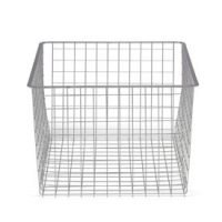 45cm x 44cm Platinum Elfa Basket - Deep