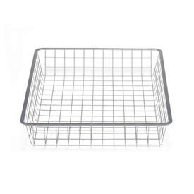 45cm x 54cm Platinum Elfa Basket - Shallow