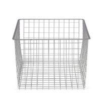 45cm x 54cm Platinum Elfa Basket - Deep