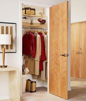 bedroom wall storage