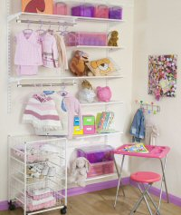 Elfa Tots Wardrobe - Best Selling Solution