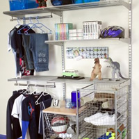 Teens Wardrobe - Elfa Best Selling Storage Solution