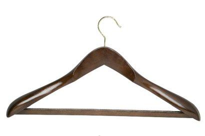 Dark Wood Suit Hanger