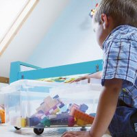 Kids Under Bed Box - Plastic