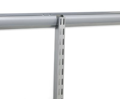elfa top track covers for any elfa toptrack twin slot shelving system