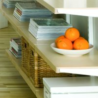 Wooden Solid Elfa Shelf - 60cm x 40cm