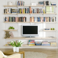 Elfa Living Room Shelving - Best Selling Solution
