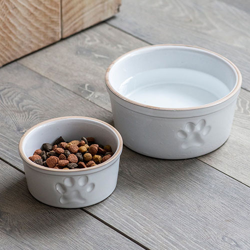 Stoneware Pet Bowl - Small