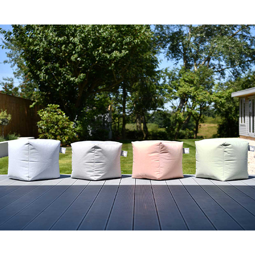 B-Box Footstool - Pastel