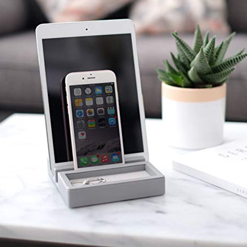 Stackers Tech Stand - Dove Grey