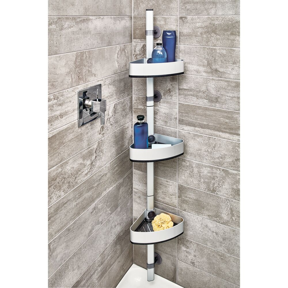 Self Adhesive Adjustable Shower Caddy