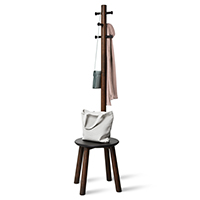 Coat Stand and Stool - Pillar
