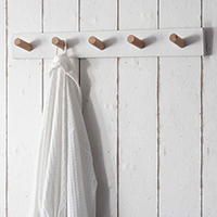 Melcombe 5 Peg Hook Rack