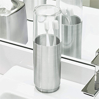Toothbrush Holder with Lid - Austin