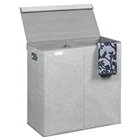 Foldable Double Laundry Hamper - Aldo