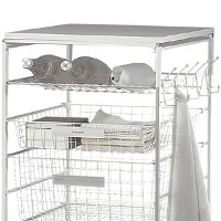 Bottle / Shoe Rack For Elfa Drawers 55cm x 54cm - White