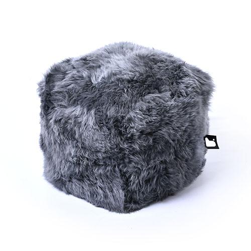 Bean Bag Crazy Mighty B-Box Footstool - Sheepskin