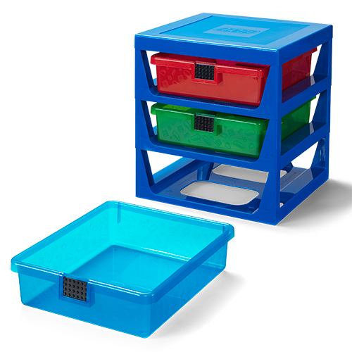 LEGO 3 Drawer Storage Rack